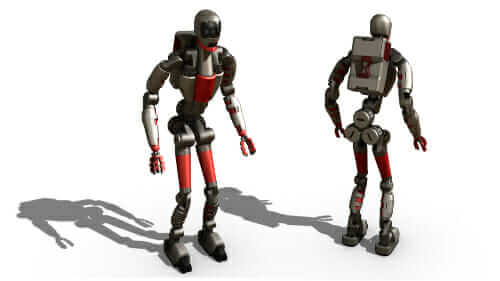 Modbotのモジュラー・ロボット工学の一例