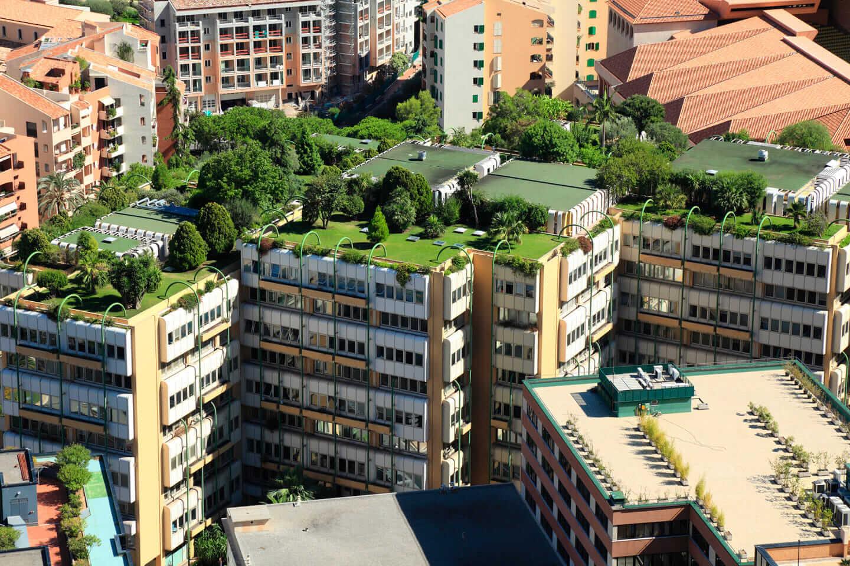 LEED v4 credits for vegetation on a building site