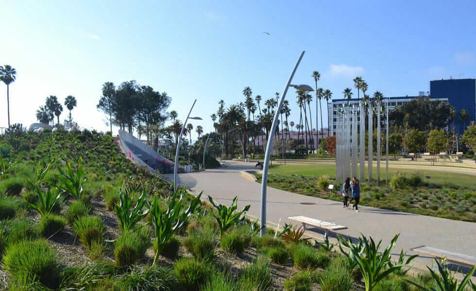 Tongva Park & Ken Genser Square