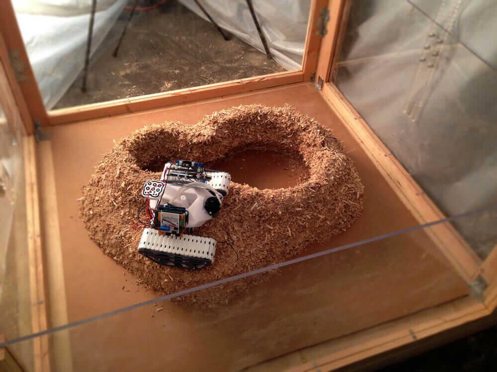 ロボット3DプリンターSwarmscaper