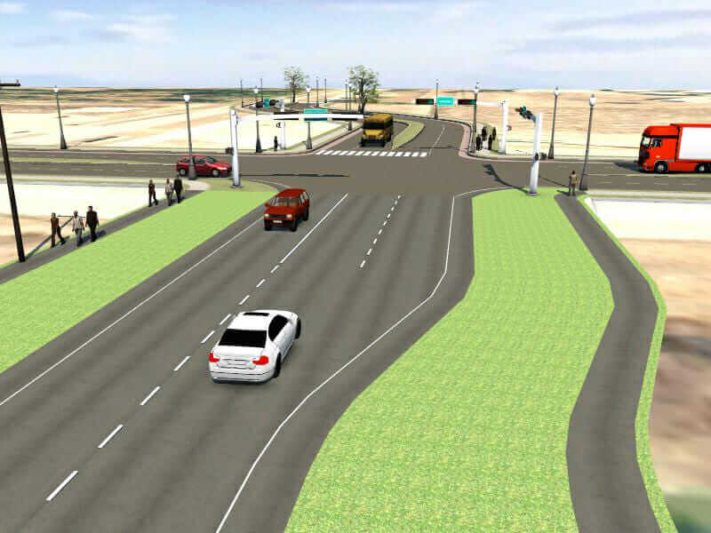 municipal intersection rehabilitation