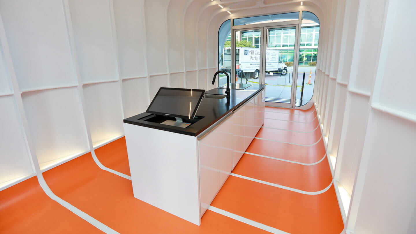 AMIE interior integrated energy systems