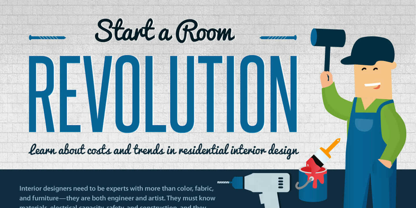 Interior Design Trends Start A Room Revolution Infographic
