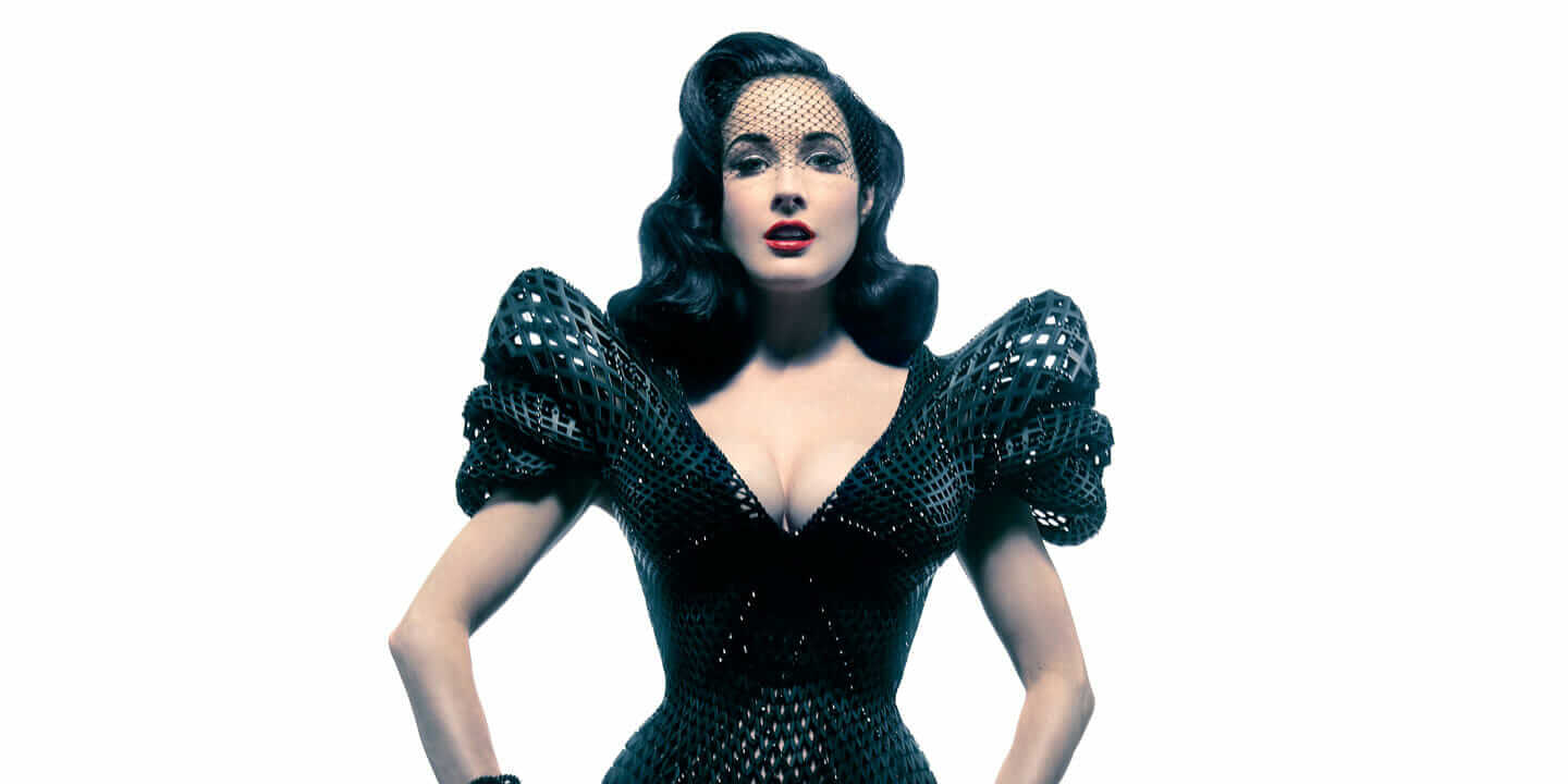 dita_von_teese_3d_printed_dress