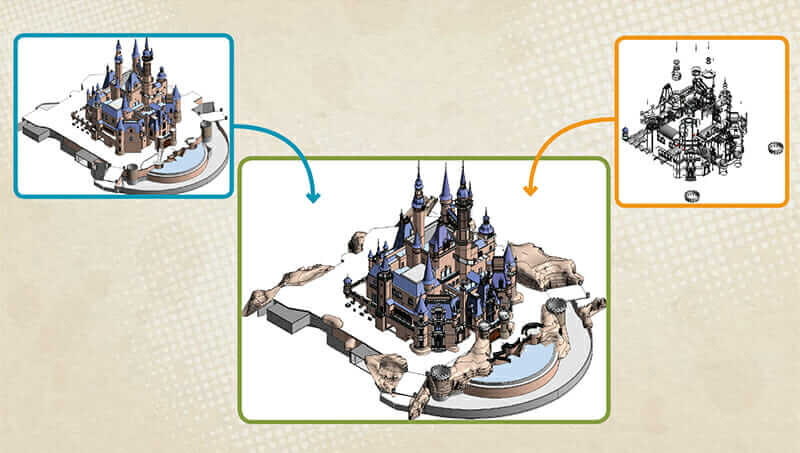 enchanted storybook castle revit