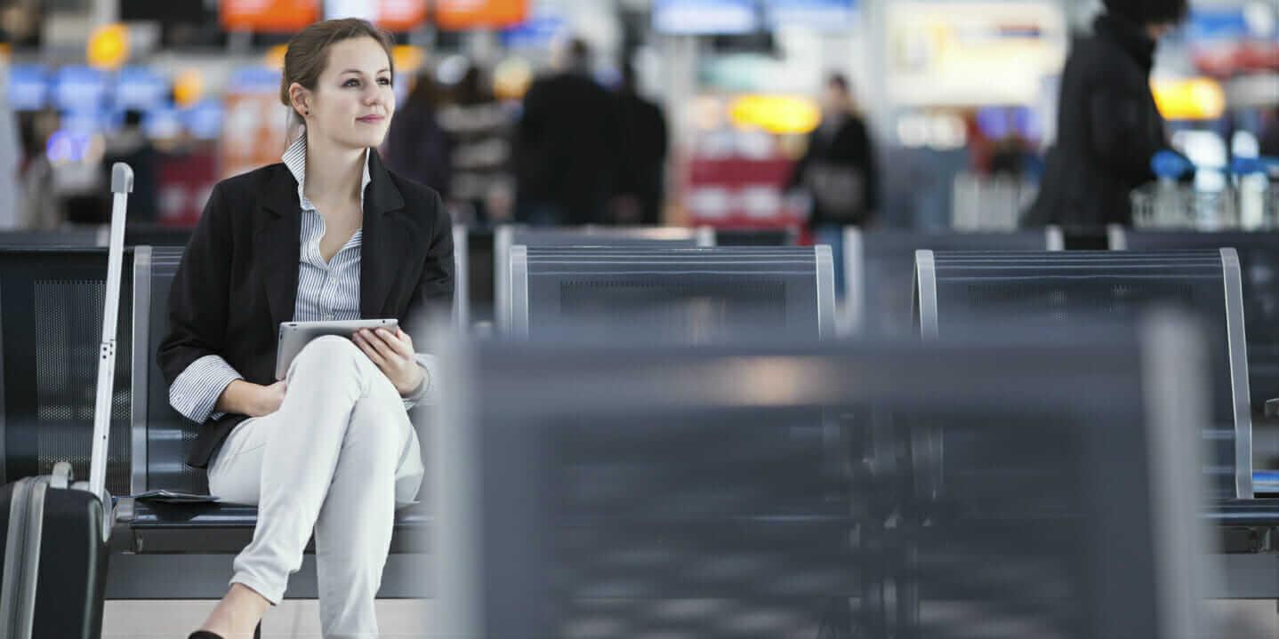 mobile app in airport