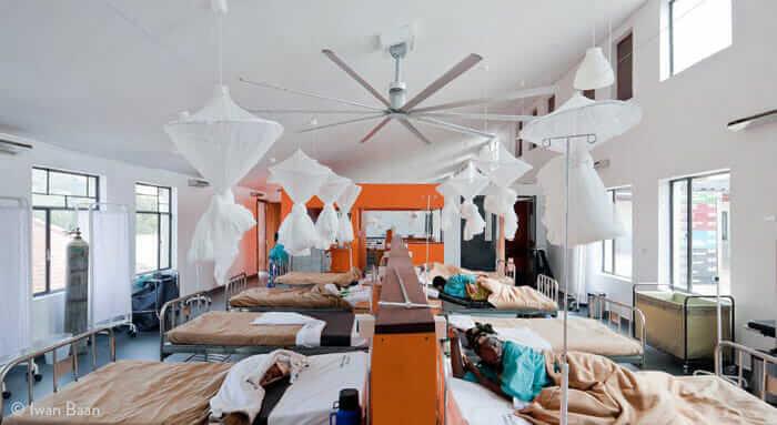 Butaro Hospital. Courtesy Iwan Baan.