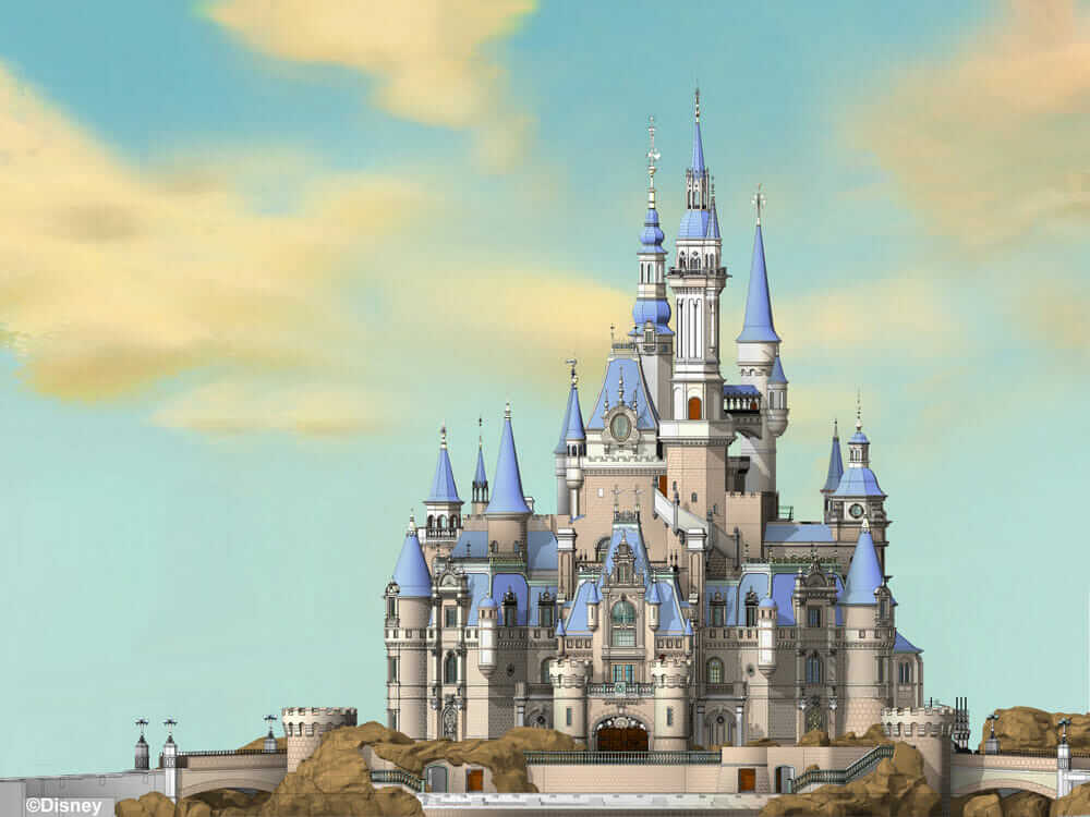EnchantedStorybookCastle_WaltDisney_Imagineering_Final-Model-Visualization