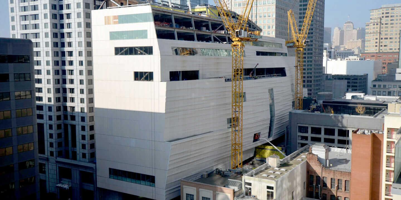 SF MoMA monocoque structure