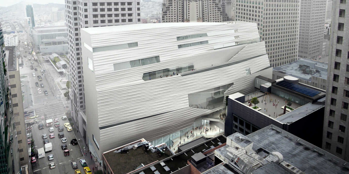 SF MoMA monocoque structure