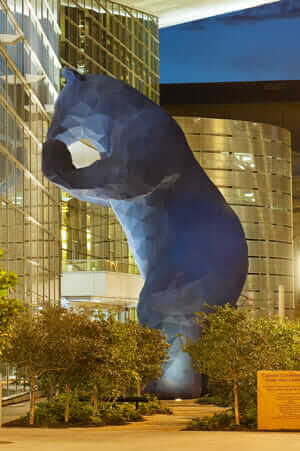 Blue Bear at Colorado Convention Center