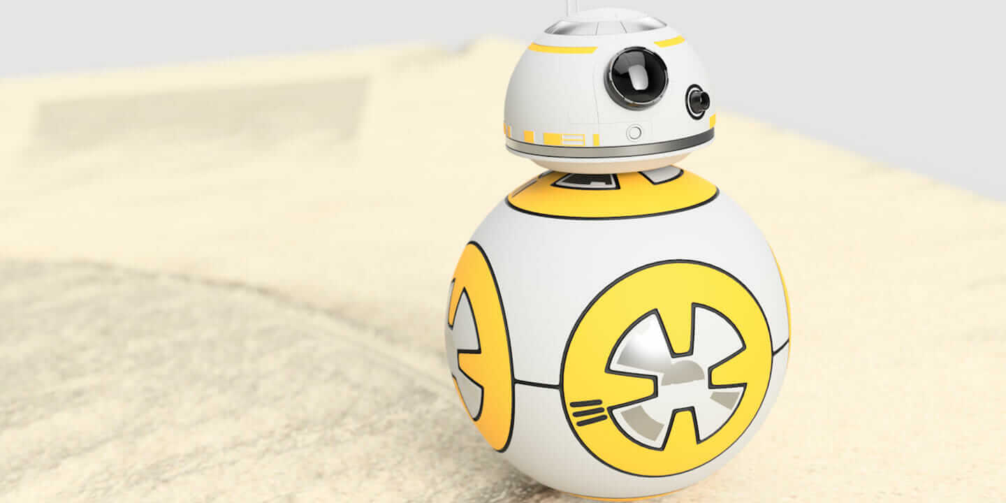 Star Wars BB-8 droid recreation