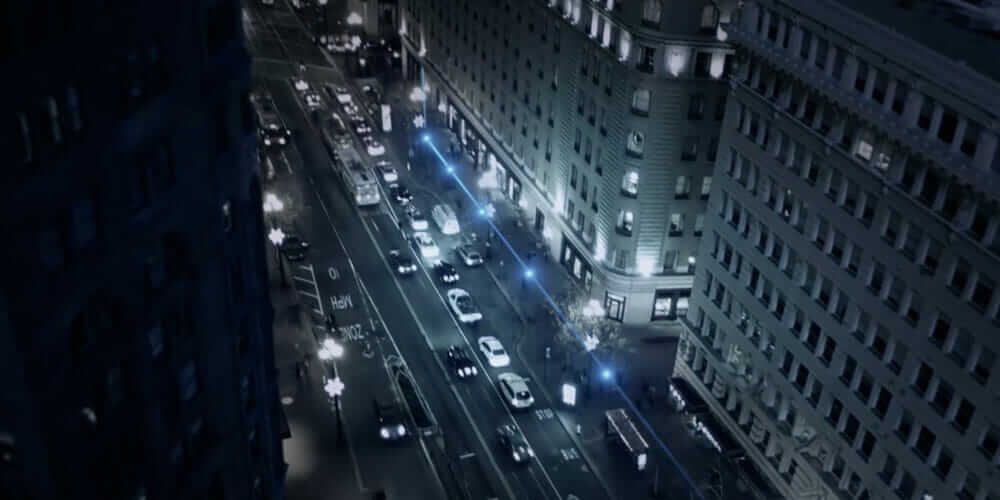 LightRail_Market_Street_Night