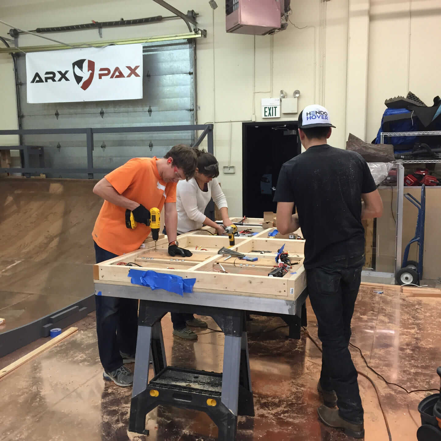 arx pax team builders