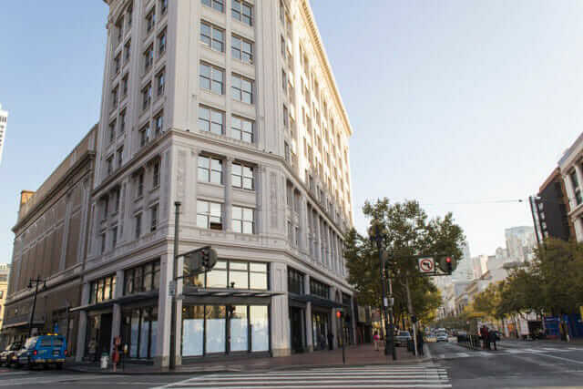 The Warfield Building in San Francisco, with LEED-CS Certification
