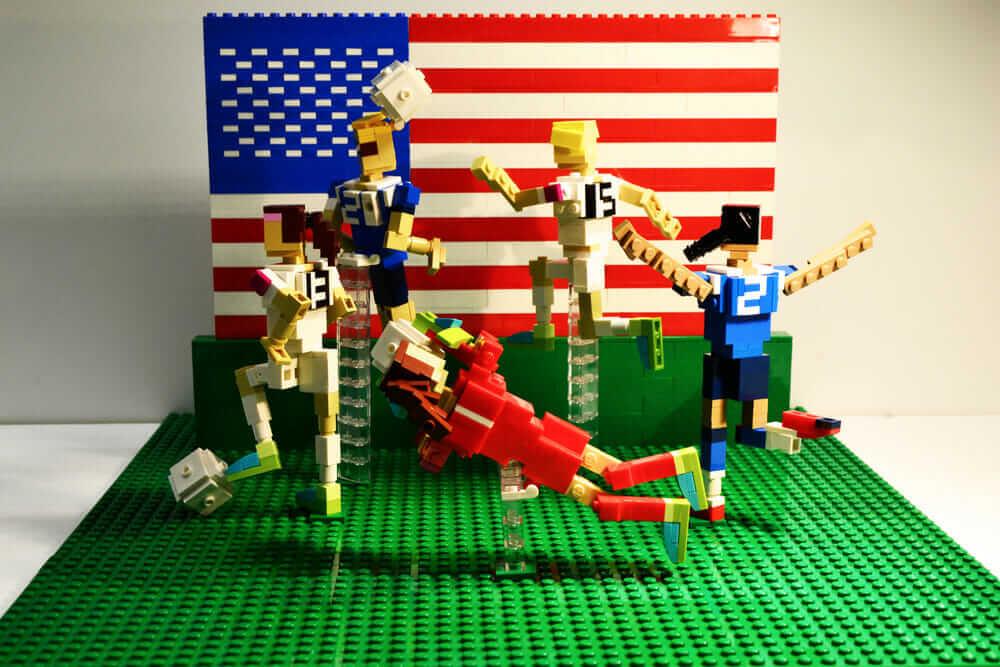 レゴ 女子 米国 サッカー ヴェロニカ・ワトソン