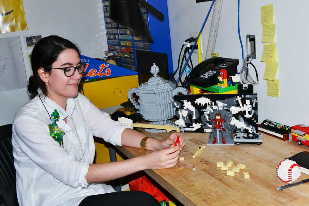 ヴェロニカ・ワトソン LEGO マスター・モデル・ビルダー