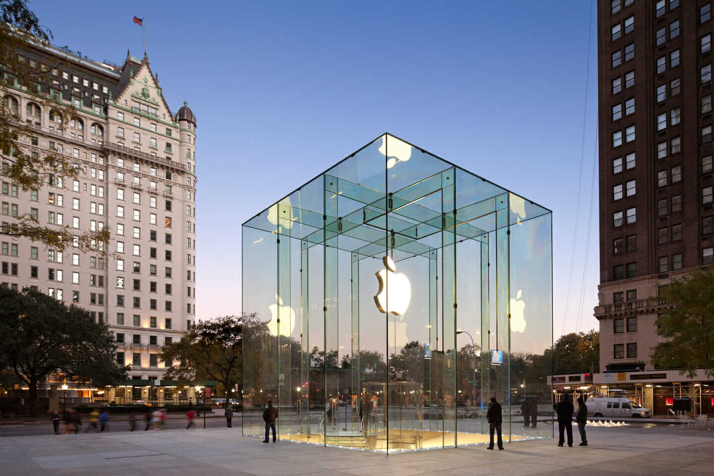 Bohlin Cywinski Jackson Apple Store client trust