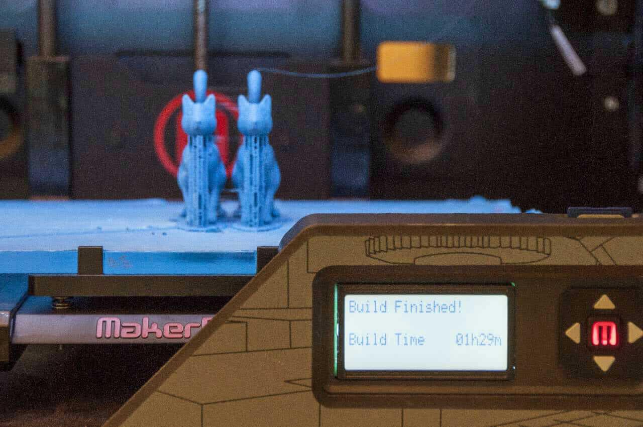 MakerBot Replicator 2 3d-printing methods