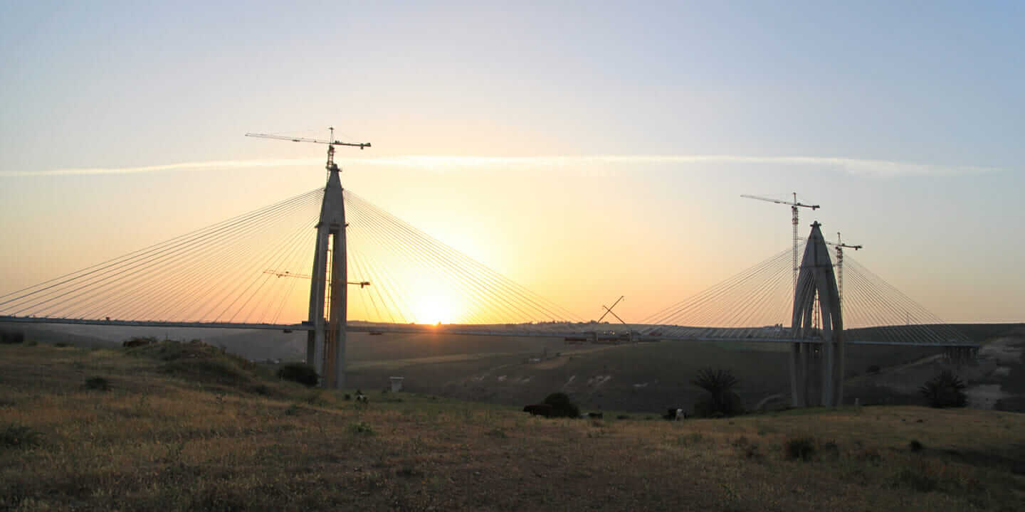 bouregreg river cable-stayed bridge project-risk management