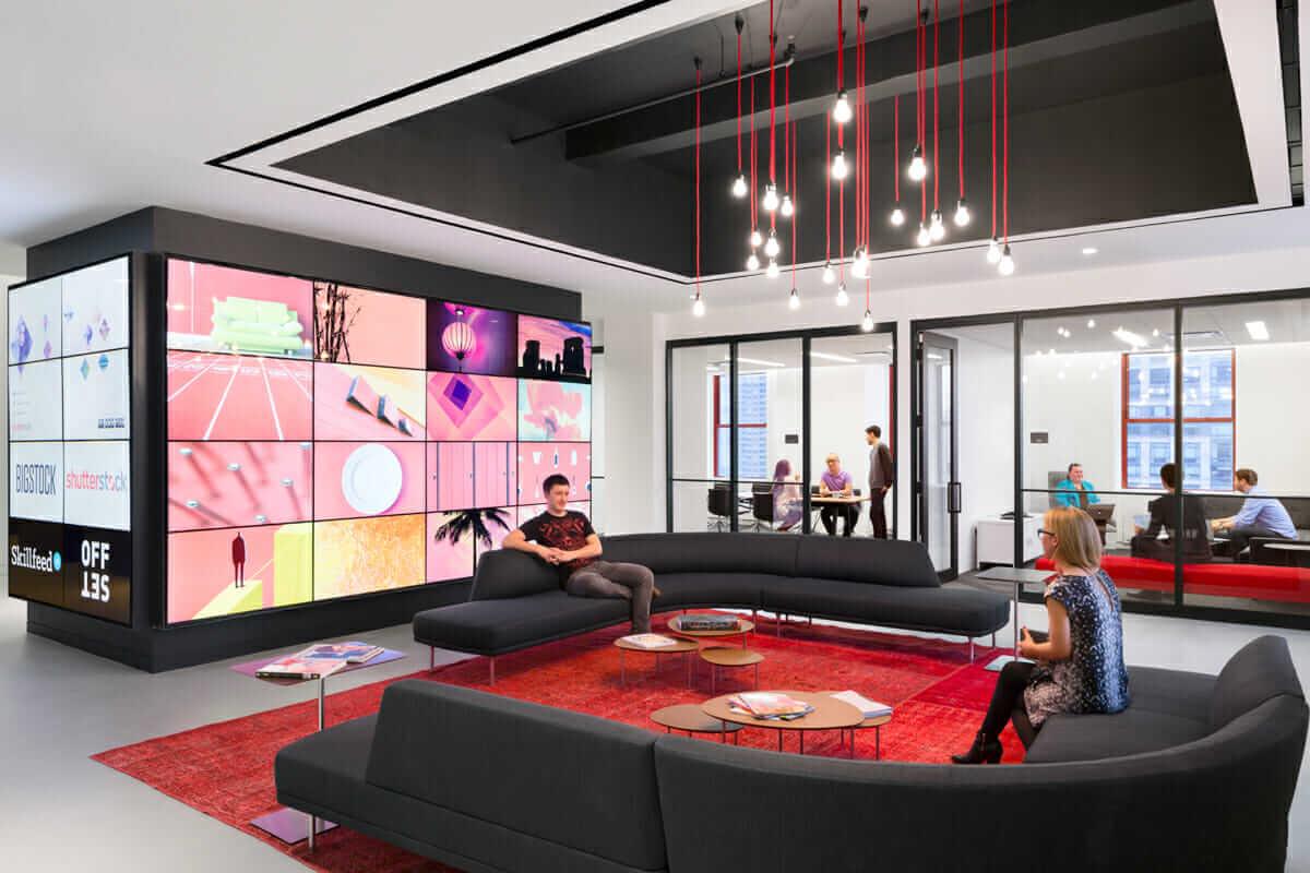 Shutterstock reception STUDIOS