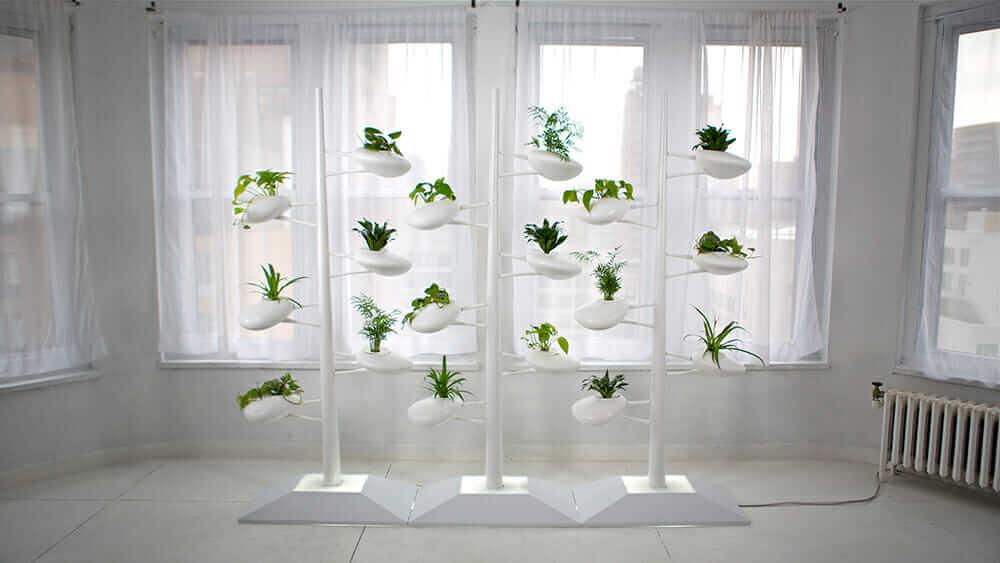 Danielle Trofe's Vertical Hydroponic Garden. Courtesy Danielle Trofe Design.