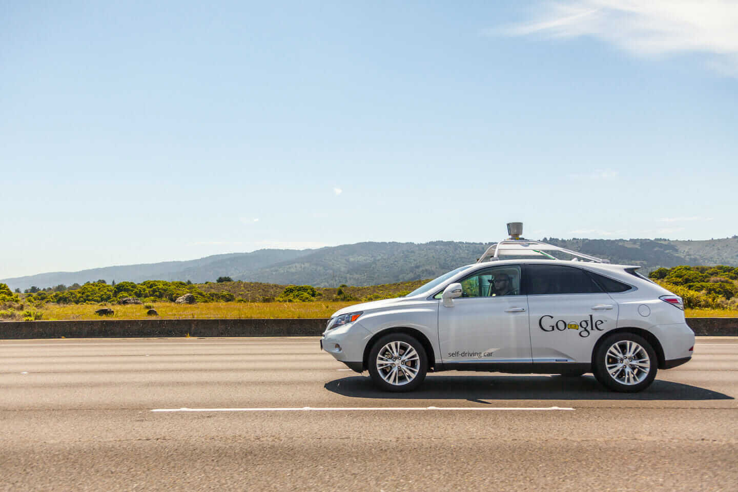 smart cities Google self-driving car