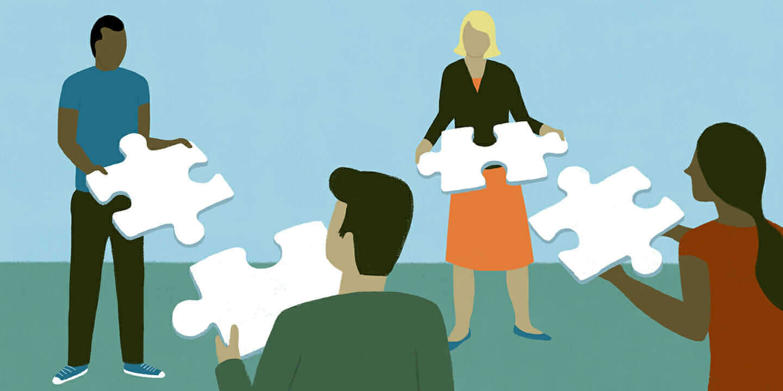 leadership advice puzzle pieces