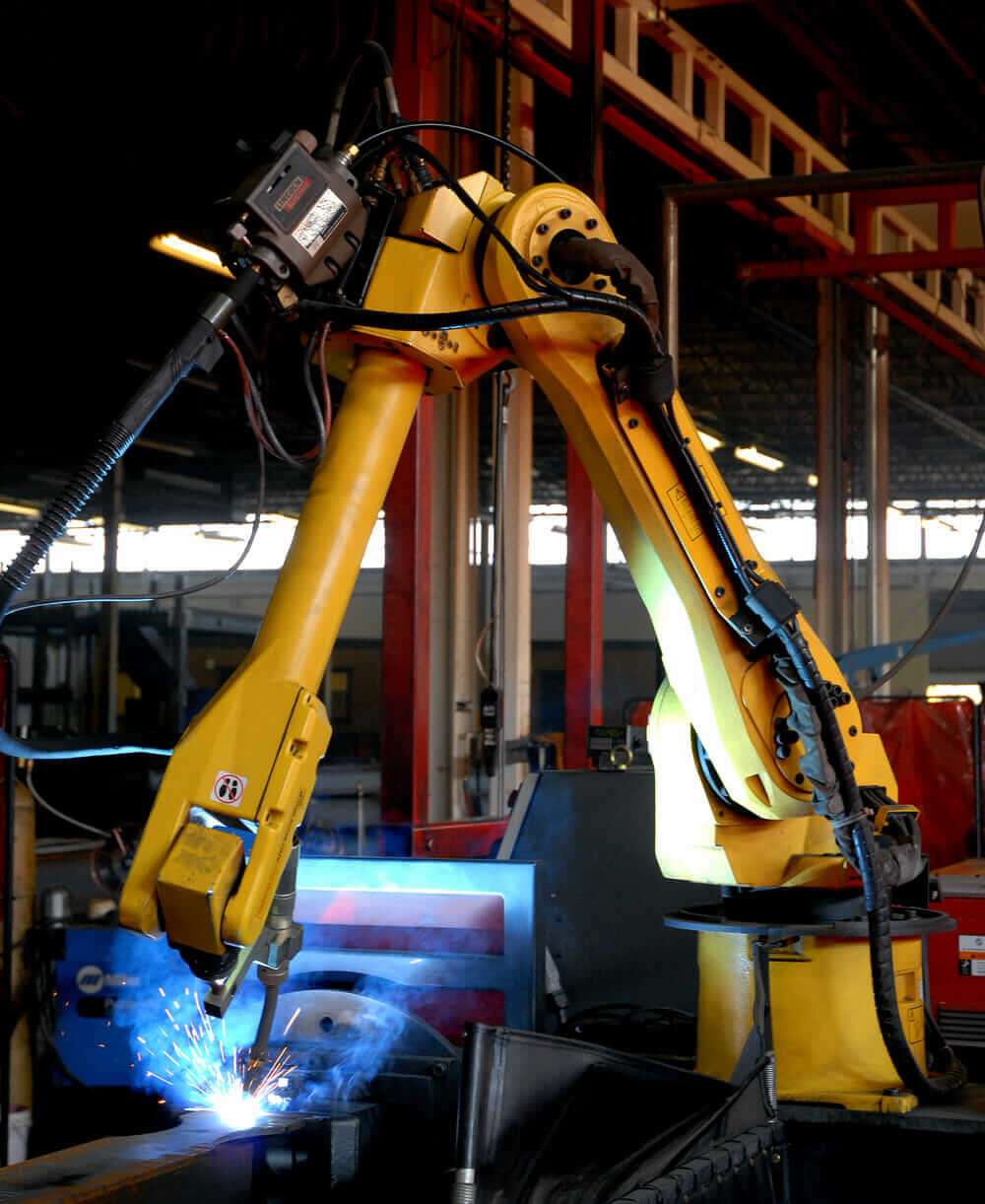 modular construction robotics welding ConXtech