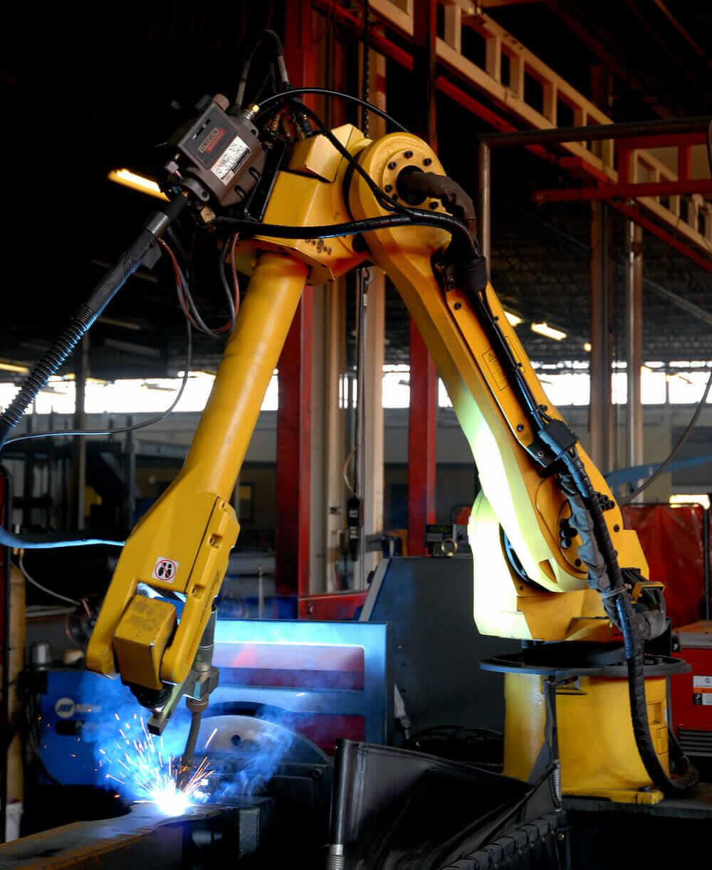 modular construction robotics welding ConXtech