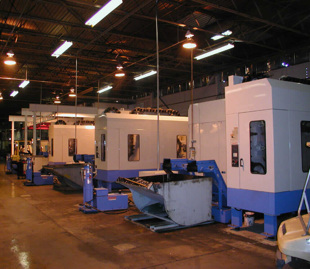 modular construction CNC machine centers ConXtech