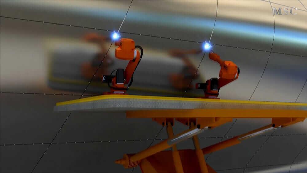 ロボット建設 MSC ロボット