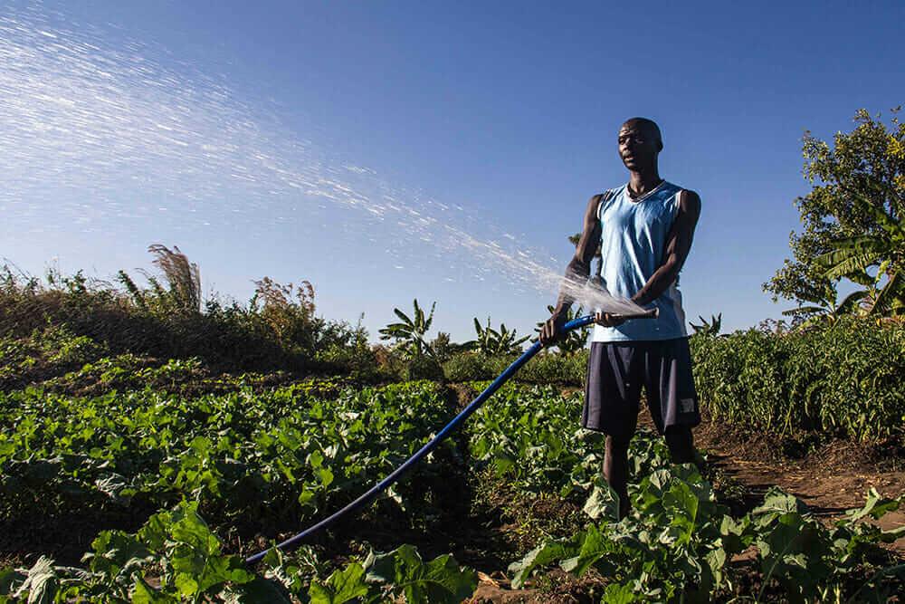KickStart International farmer
