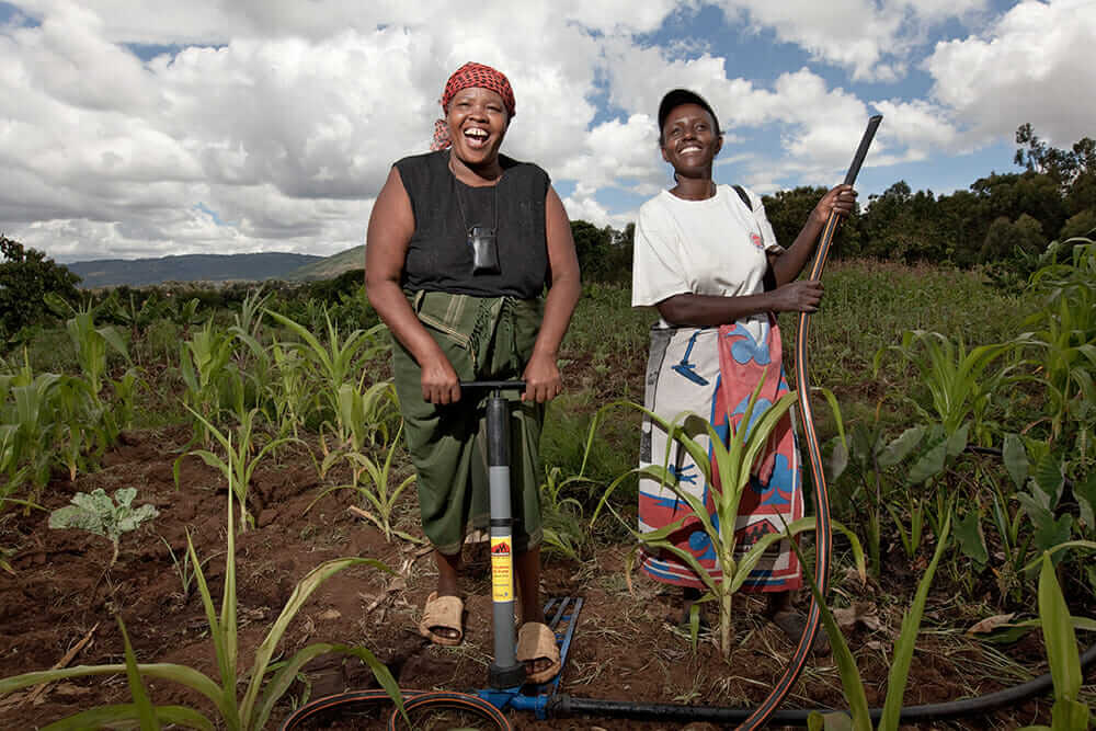 KickStart International women farmers