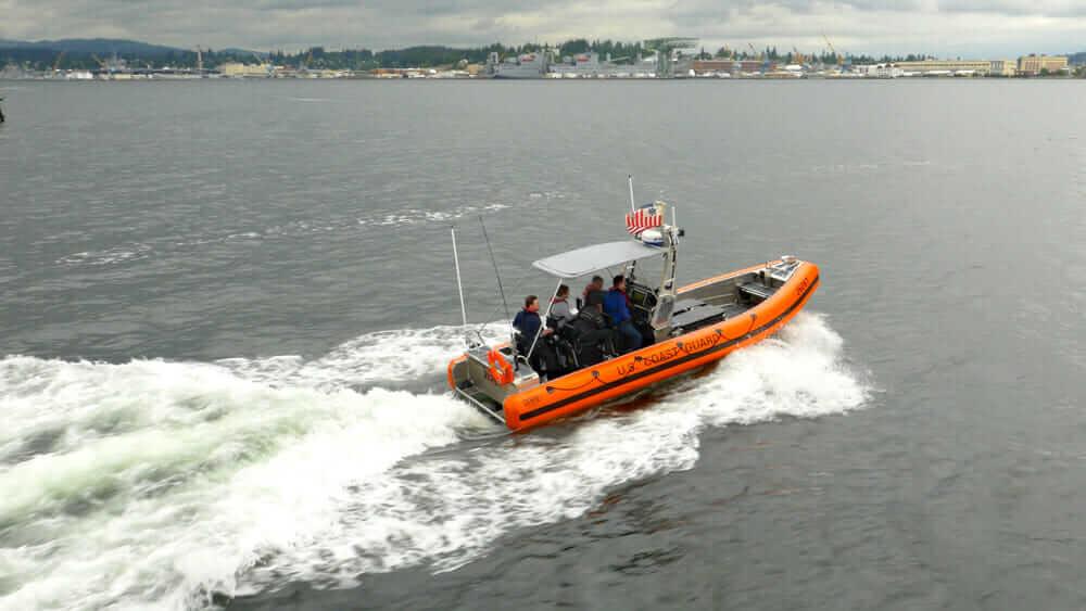 unique career path U.S. Coast Guard SAFE Center Console