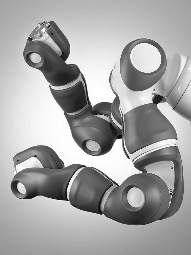 collaborative robots YuMi arms
