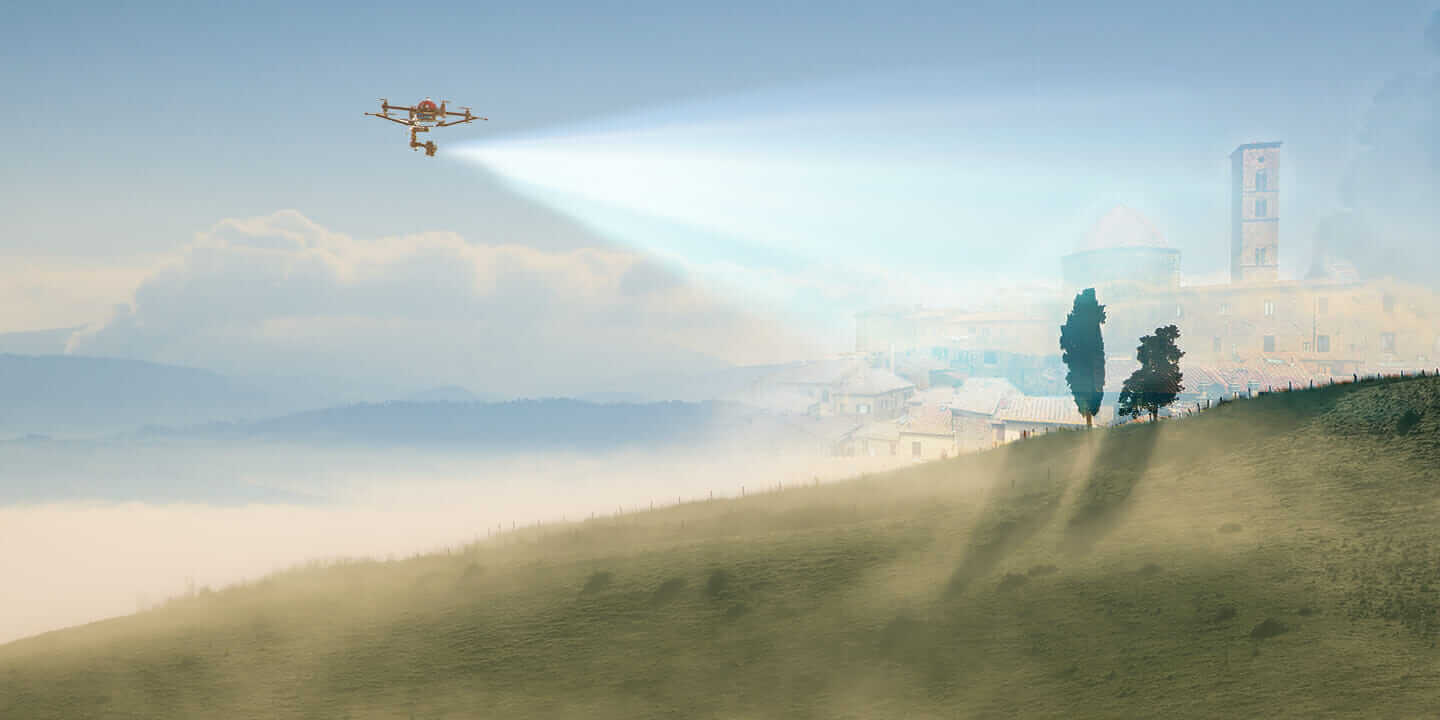 drones in construction header