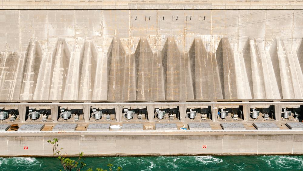 NYPA's hydropower plant at Niagara Falls.