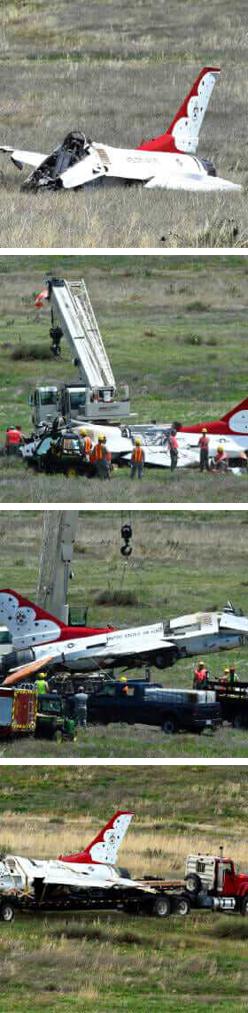 aircraft accident investigations crash collage