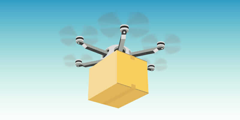 agile manufacturing example of package delivery drone