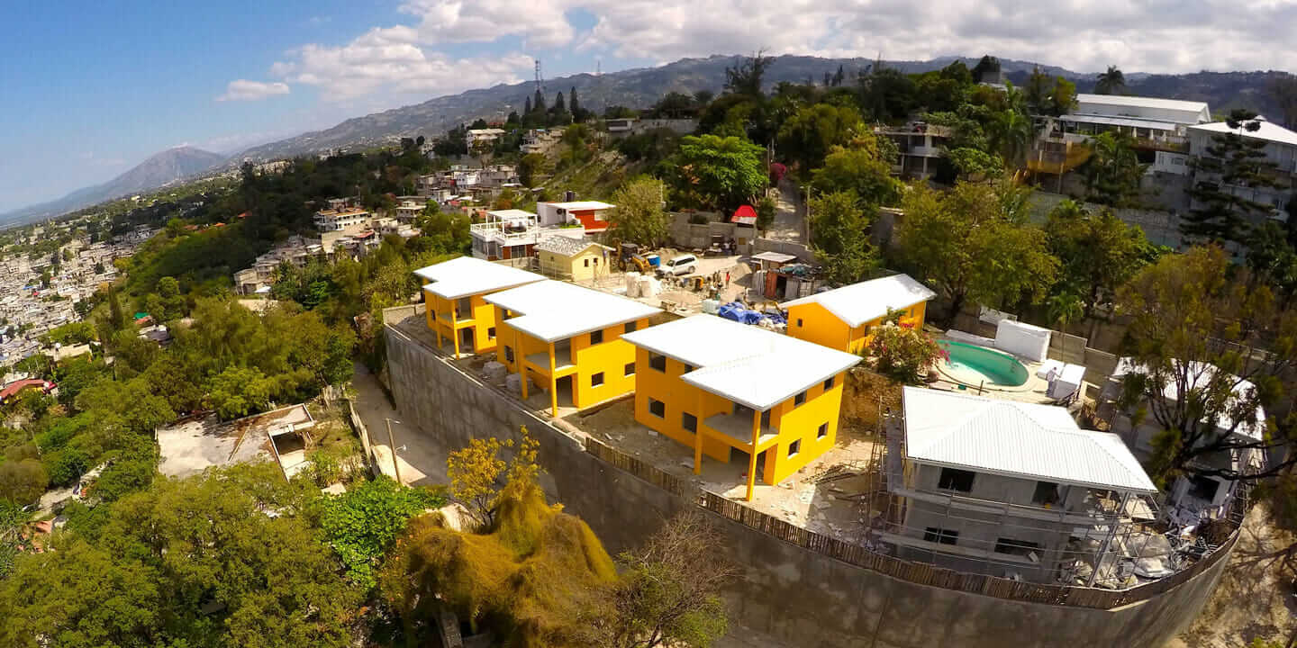 disaster-resilient buildings housing development in Haiti