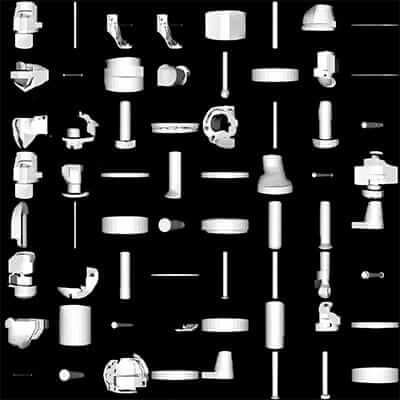 Autodesk Inventor catalog items