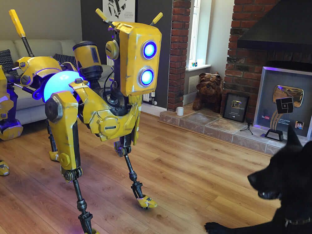 robo challenge mack the dogbot