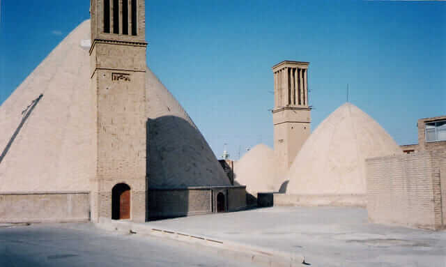 Water cisterns in Ab-anbar, Iran.