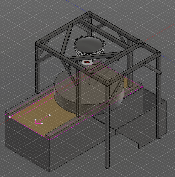 Model of AMP Robotics using Autodesk Fusion 360.