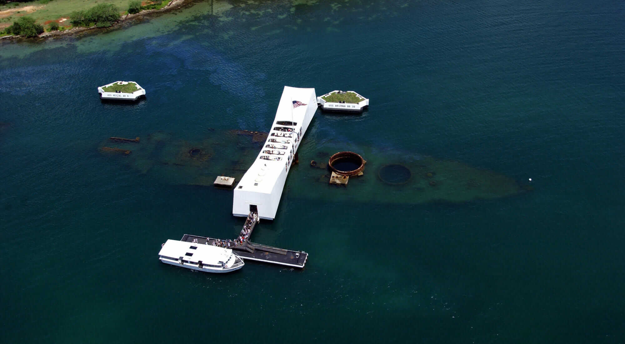 remembering pearl harbor USS Arizona Memorial at Pearl Harbor