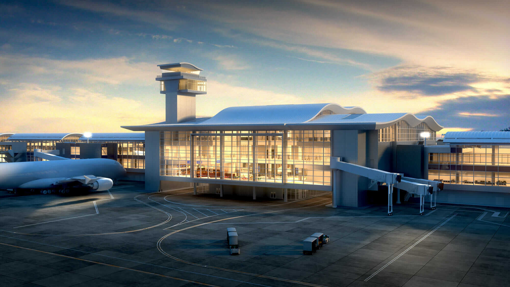 LAX North Base expansion rendering