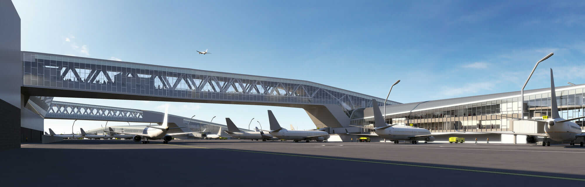 LaGuardia expansion rendering