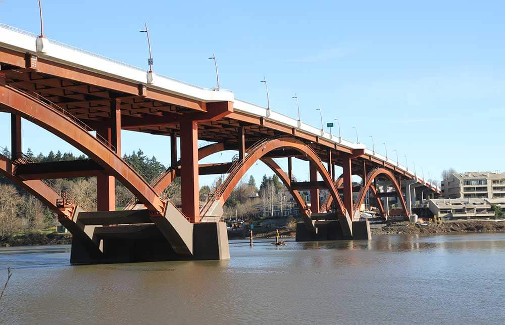 virtual construction engineer Sellwood Bridge