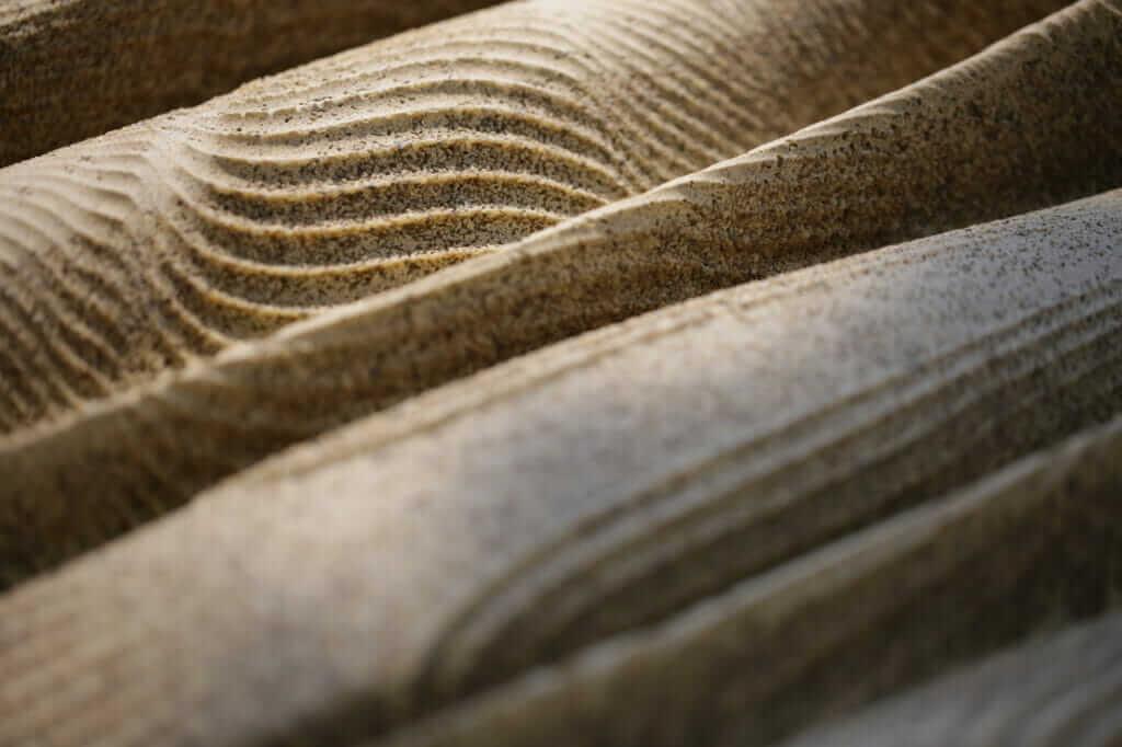 Image of bioreceptive concrete.